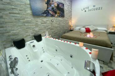 Suite con grande vasca idromassaggio - a partire da € 80